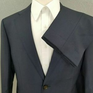 Suitsupply 'Napoli' Navy Super 110s Wool SUIT 40S